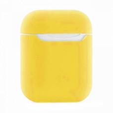 Чехол силиконовый BmCase для AirPods #14 желтый
