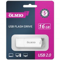 Флeш-нaкопитель USB 2.0 Partner/Olmio U-181 16GB белый
