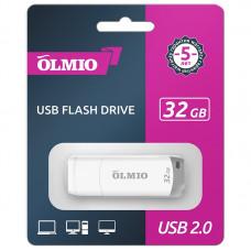 Флeш-нaкопитель USB 2.0 Partner/Olmio U-181 32GB белый