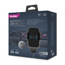 Держатель с беспроводной зарядкой Partner/Olmio Robo QIs 10W для смартфонов