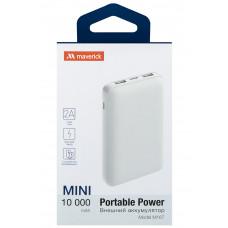 ЗУ Power Bank Maverick M167 10000 mAh белый