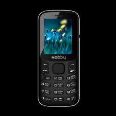 """Телефон Nobby 120 (1,77"""", 800mAh, 2 SIM, камера, громкий динамик) черный"""