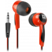 Наушники Defender Basic 604 внутриканальные черно-красные
