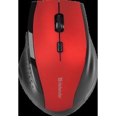 Мышь беспроводная Defender Accura MM-365 6 кнопок, 800-1600dpi черно-красная