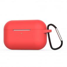 Чехол силиконовый Borasco для Apple AirPods Pro красный