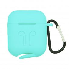 Чехол силиконовый Borasco для Apple AirPods тиффани