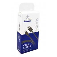 Кабель Breaking USB to Apple Lightning 1м 2.4А Classic белый