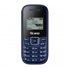 """Телефон Olmio A11 (1,44"""", 600mAh, 2 SIM, ч/б) синий"""