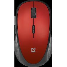 Мышь беспроводная Defender Hit MM-415 6 кнопок,1600dpi, черно-красная