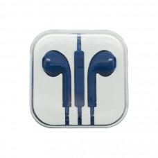 Наушники Oxion (аналог EarPods) синие