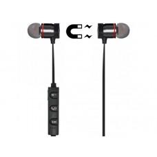 Bluetooth-наушники Xooxi ER-07 с магнитами, черные