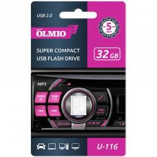Флеш-нaкoпитель USB 2.0 Partner/Olmio U-116 32GB белый