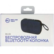 Bluetooth-колонка Red Line BS-05 3Вт синяя