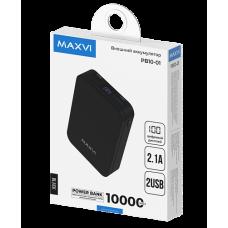 ЗУ PowerBank Maxvi PB10-01 10000 mAh черный
