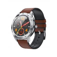 Умные часы Smarterra SmartLife THOR металлик (коричневый ремешок)