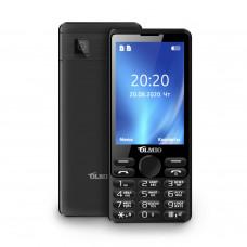 """Телефон Olmio E35 (3,5"""", 4000mAh, 2 SIM, Bluetooth-модуль, камера, фонарик) черный"""