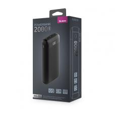 ЗУ Power Bank Partner/Olmio NS-20 20000 mAh черный