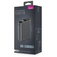 ЗУ Power Bank Partner/Olmio QS-10 18W Quick Charge 3.0 10000 mAh темно-серый