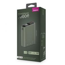 ЗУ Power Bank Partner/Olmio QS-10 18W Quick Charge 3.0 10000 mAh темно-зеленый