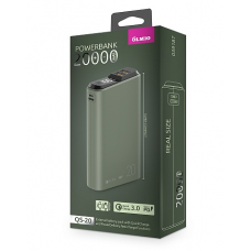 ЗУ Power Bank Partner/Olmio QS-20 18W Quick Charge 3.0 20000 mAh темно-зеленый