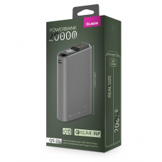ЗУ Power Bank Partner/Olmio QS-20 18W Quick Charge 3.0 20000 mAh темно-серый