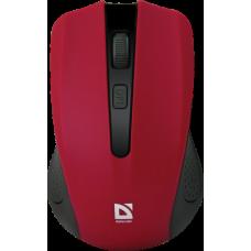 Мышь беспроводная Defender Accura MM-935 4 кнопки, 800-1600dpi красная