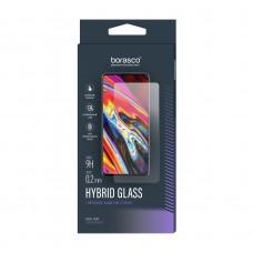 Стекло гибридное Borasco Hybrid Glass для Tecno Camon 15 Pro