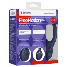 Bluetooth-наушники полноразмерные Defender FreeMotion B520 синие