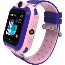 Умные детские часы Smarterra SmartLife KIDS (с поддержкой SIM)  розовые