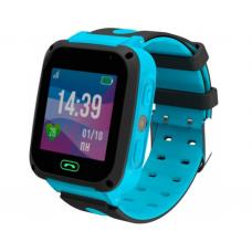 Умные детские часы JET KID CONNECT (с поддержкой SIM) голубые