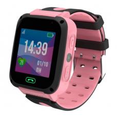 Умные детские часы JET KID CONNECT (с поддержкой SIM) розовые