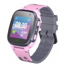 Умные детские часы JET KID TALK (с поддержкой SIM) серо-розовый