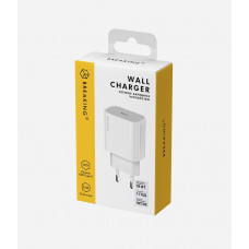 СЗУ Breaking WC02 3.0A для USB-C 18W однопортовое белое