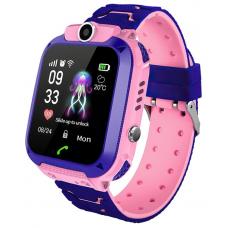 Умные детские часы Prolike PLSW12 (с поддержкой SIM) розовые
