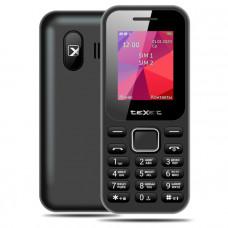 """Телефон teXet TM-122 (1,77"""", 600mAh, 2 SIM, без камеры) черный"""