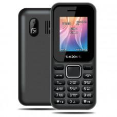 """Телефон teXet TM-123 (1,77"""", 1000mAh, 2 SIM, камера, фонарик) черный"""