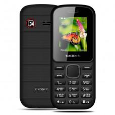 """Телефон teXet TM-130 (1,77"""", 600mAh, 2 SIM, без камеры, фонарик) черно-красный"""