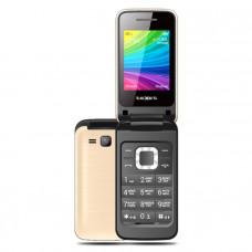 "Телефон teXet TM-204 (2,4"", 800mAh, 2 SIM, раскладушка, камера, Bluetooth-модуль) шампань"