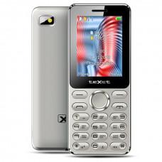 "Телефон teXet TM-212 (2,4"", 800mAh, 2 SIM, камера, Bluetooth-модуль, фонарик) серый"