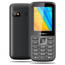 """Телефон teXet TM-213 (2,4"""", 1000mAh, 2 SIM, камера, Bluetooth-модуль, фонарик) черный"""