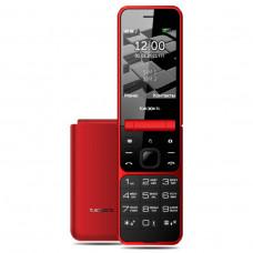 """Телефон teXet TM-405 (2,8"""", 1350mAh, 2 SIM, раскладушка, камера, Bluetooth-модуль, фонарик) красный"""