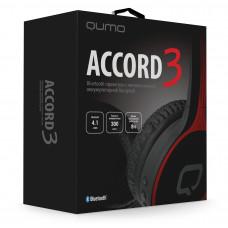 Bluetooth-наушники полноразмерные Qumo Accord 3 BT-0021 черно-красные
